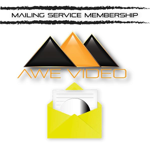 Awe Video Mailing Service Membership icon.