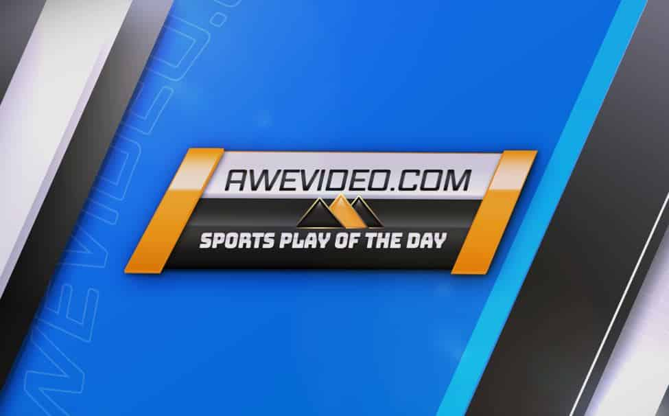 AweVideo.com Sports Play of the Day logo.