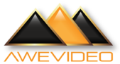 AweVideo.com Official Giza Gemstone Logo. We make the best sports highlight videos for athletes.