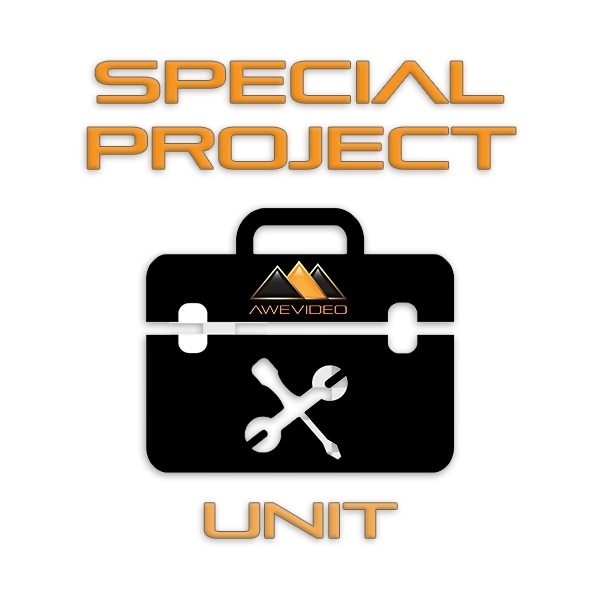 Awe Video Special Project Unit icon for website hosting service and development.