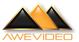 Awe Video Giza Gemstone Logo.