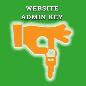 Website Admin Key